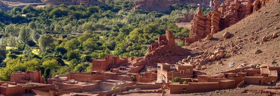 Séjour sud Maroc en privé, 4 jours