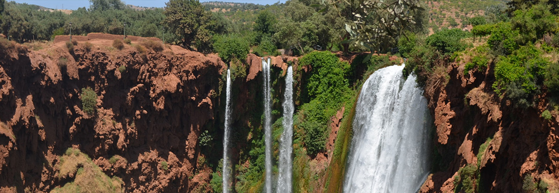 Excursion cascades Ouzoud Marrakech en privé