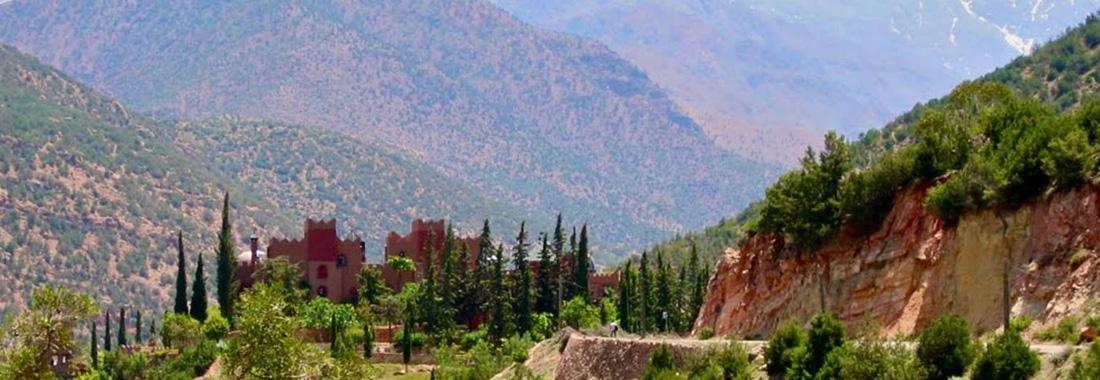 Excursion 3 vallées et villages berbères Marrakech