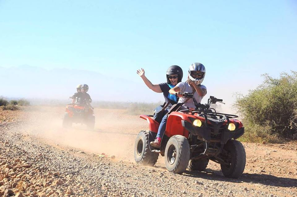 Ballade en quad pas cher à Marrakech