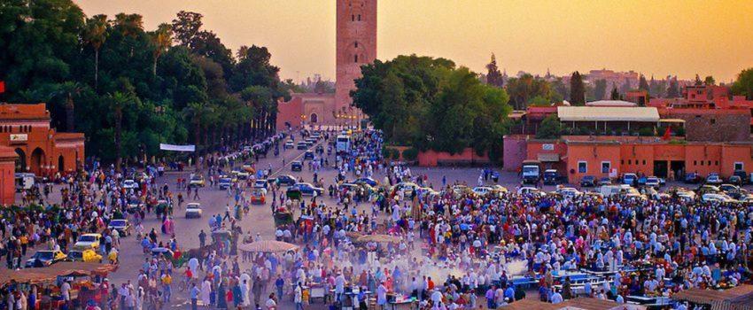 Visite guidée de marrakech medina