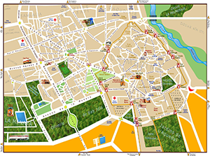 TOURIST MAP OF MARRAKECH